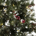 Fast Shape Snow Needle Pine Pre-Lit Christmas Tree - 4 1/2'