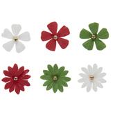 Christmas Flower Embellishments