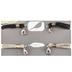 Black Suede Lace Connector Bracelets