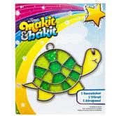 Turtle Makit & Bakit Suncatcher Kit
