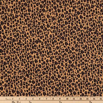 Leopard Print Knit Fabric