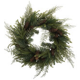 Pinecone & Cedar Wreath