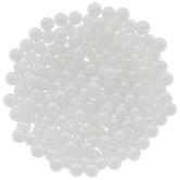 White Plastic Pearls