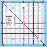 """Quilt Project Card & Ruler - 4 1/2"""""""