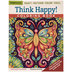 Think Happy Coloring Book
