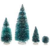 Frosted Sisal Trees