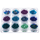 Sea Breeze Glass Beads