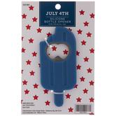 Blue Ice Pop Bottle Opener