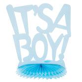 It's A Boy Honeycomb Centerpiece