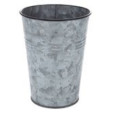 Tall Galvanized Metal Container