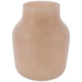 Pink Round Glass Vase