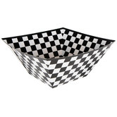 Checkered Flag Paper Bowls