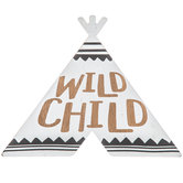 Wild Child Teepee Wood Wall Decor