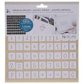 Fun Alphabet & Number Adhesive Stencils