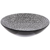 White & Black Tiny Dots Bowl