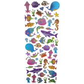 Sea Animal Foil Stickers