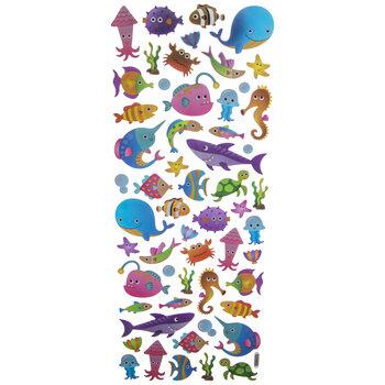 Sea Animal Foil Stickers