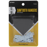 Sawtooth Hangers With Nails