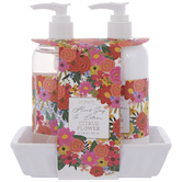 Citrus Flower Hand Soap, Lotion & Tray