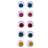 Multi Paste-On Wiggle Eyes - 7mm