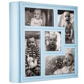 """Blue Collage Photo Album - 4"""" x 6"""""""