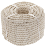 Natural Cotton Cord - 8mm
