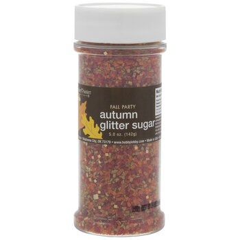 Autumn Glitter Sugar