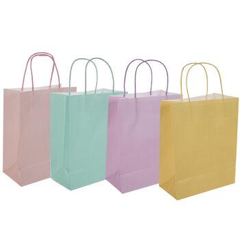 Pastel Craft Gift Bags