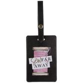 Sew Far Away Luggage Tag