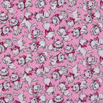 Many Faces Of Marie Cotton Calico Fabric