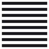 """Black & White Glitter Striped Scrapbook Paper - 12"""" x 12"""""""