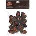 Metallic Brown & Copper Acorns
