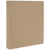 "Kraft Chipboard 3-Ring Scrapbook Album - 8 1/2"" x 11"""