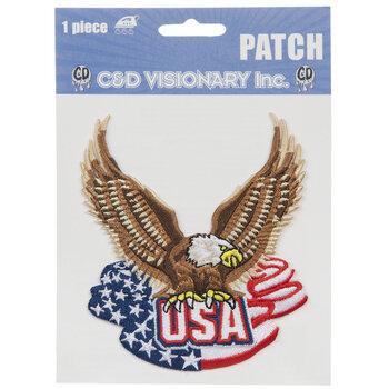 USA Eagle Iron-On Applique