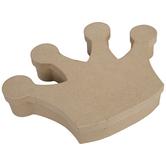 Crown Paper Mache Box