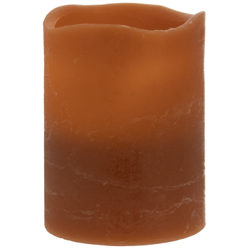 Coffee Pillar LED Candle