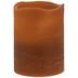 Coffee Pillar LED Candle - 3