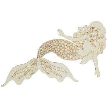 Mermaid Wood Shape