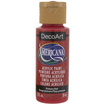 Primary Red Americana Acrylic Paint
