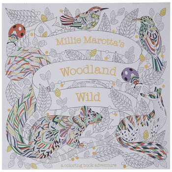 Woodland Wild Coloring Book