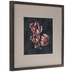 Navy & Pink Floral Framed Wall Decor