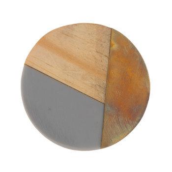 Geometric Wood Knob