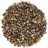 Brown & Metallic Wood Bead Mix