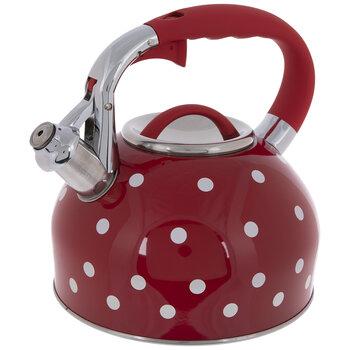 Red & White Polka Dot Kettle