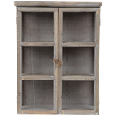 Whitewash Wood Wall Cabinet