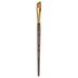 Golden Taklon Angular Shader Paint Brush - 1/2
