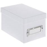 Mini White Photo Storage Box