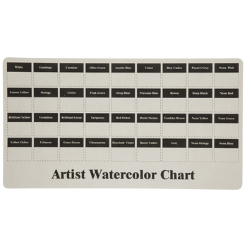 Pearlescent Watercolors - 21 Piece Set