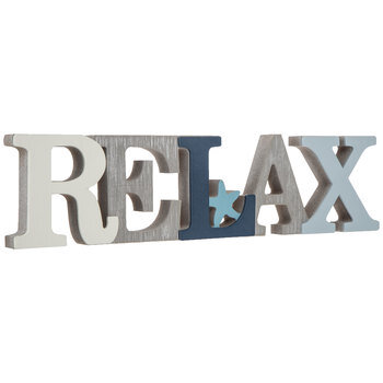 Relax With Star Wood Decor