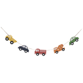 Cars Wood Garland